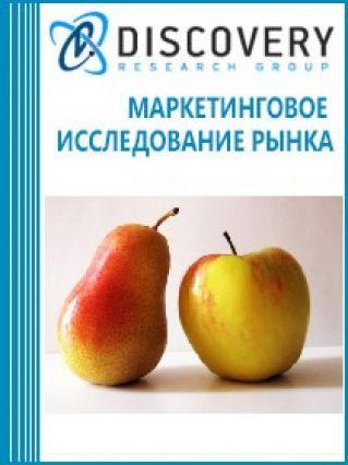 Маркетинговое исследование - Анализ рынка яблок, груш и айвы в России