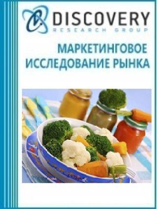 Маркетинговое исследование - Анализ рынка гомогенизированых продуктов для детского питания в России