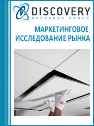 Анализ рынка потолочных плит из минерального сырья в России