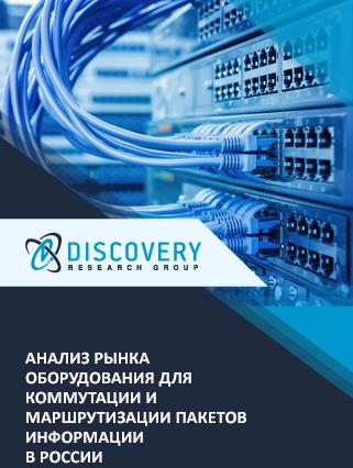 Анализ рынка оборудования для коммутации и маршрутизации пакетов информации в России