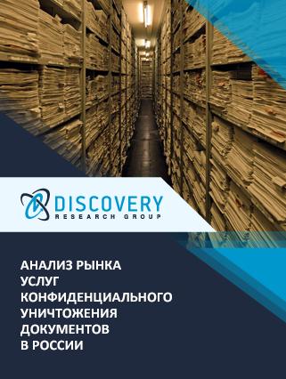 Анализ рынка услуг конфиденциального уничтожения документов в России