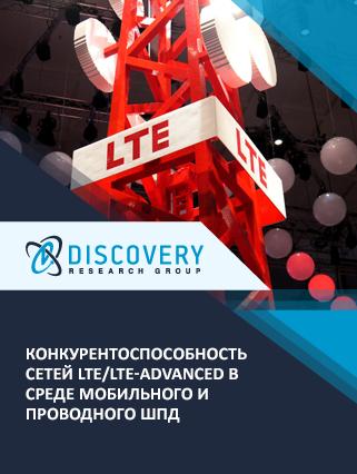 Конкурентоспособность сетей LTE/LTE-Advanced в среде мобильного и проводного ШПД