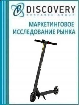 Анализ рынка электрических велосипедов и самокатов в России (с предоставлением базы импортно-экспортных операций)