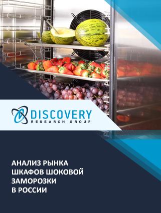 Анализ рынка шкафов шоковой заморозки в России (с базой импорта-экспорта)