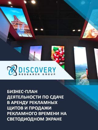 Бизнес-план деятельности по сдаче в аренду рекламных щитов и продажи рекламного времени на светодиодном экране