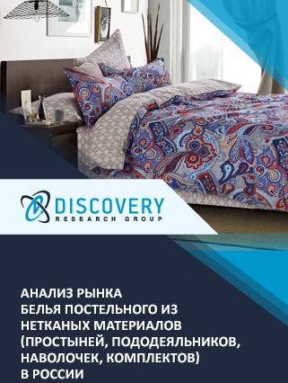 Анализ рынка белья постельного из нетканых материалов (простыней, пододеяльников, наволочек, комплектов) в России