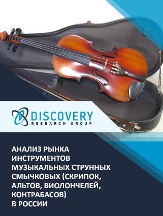 Анализ рынка инструментов музыкальных струнных смычковых (скрипок, альтов, виолончелей, контрабасов) в России