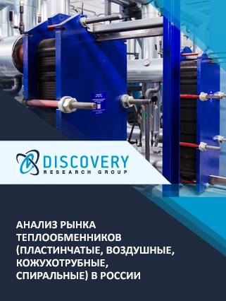 Анализ рынка теплообменников (пластинчатые, воздушные, кожухотрубные, спиральные) в России