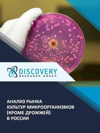 Анализ рынка культур микроорганизмов (кроме дрожжей) в России