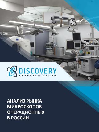 Анализ рынка операционных (хирургических) микроскопов  в России (с базой импорта-экспорта)