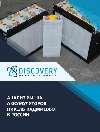 Маркетинговое исследование - Анализ рынка аккумуляторов никель-кадмиевых в России