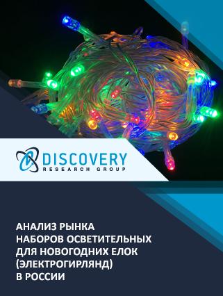 Маркетинговое исследование - Анализ рынка наборов осветительных для новогодних елок (электрогирлянд) в России