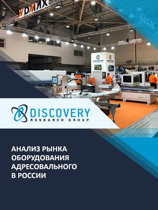 Маркетинговое исследование - Анализ рынка оборудования адресовального в России