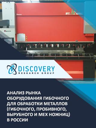 Маркетинговое исследование - Анализ рынка оборудования гибочного для обработки металлов (гибочного, пробивного, вырубного и мех ножниц) в России
