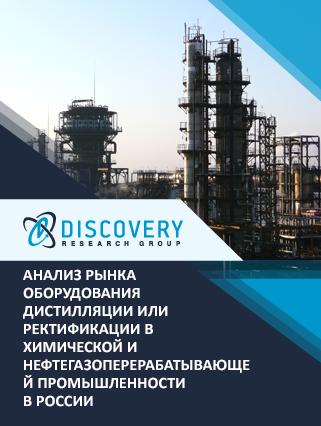 Анализ рынка оборудования дистилляции или ректификации в химической и нефтегазоперерабатывающей промышленности в России