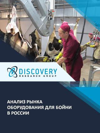 Маркетинговое исследование - Анализ рынка оборудования для бойни в России