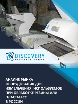 Маркетинговое исследование - Анализ рынка оборудования для измельчения, используемое при обработке резины или пластмасс в России