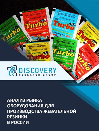 Маркетинговое исследование - Анализ рынка оборудования для производства жевательной резинки в России