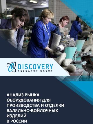 Маркетинговое исследование - Анализ рынка оборудования для производства и отделки валяльно-войлочных изделий в России