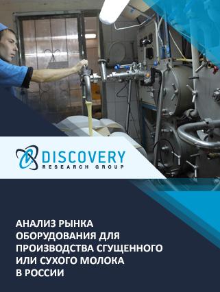Маркетинговое исследование - Анализ рынка оборудования для производства сгущенного или сухого молока в России