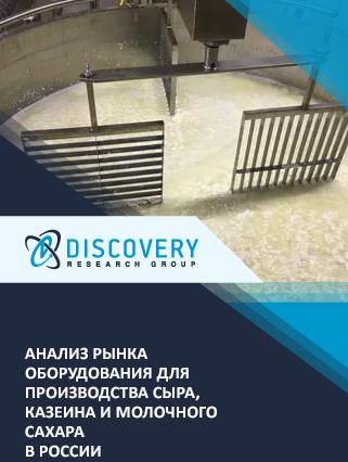 Маркетинговое исследование - Анализ рынка оборудования для производства сыра, казеина и молочного сахара в России
