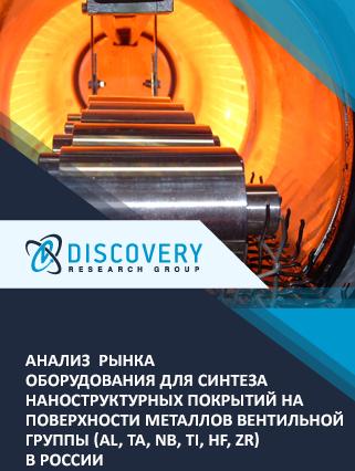 Маркетинговое исследование - Анализ рынка оборудования для синтеза наноструктурных покрытий на поверхности металлов вентильной группы (Al, Та, Nb, Ti, Hf, Zr) в России