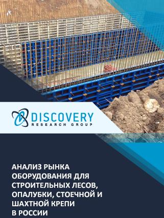 Маркетинговое исследование - Анализ рынка оборудования для строительных лесов, опалубки, стоечной и шахтной крепи в России
