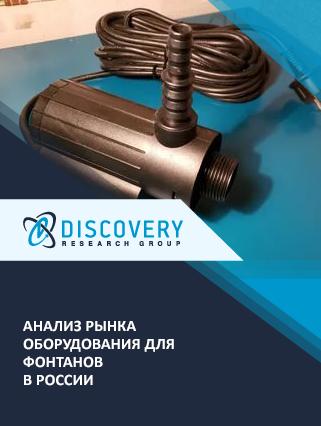 Маркетинговое исследование - Анализ рынка оборудования для фонтанов в России