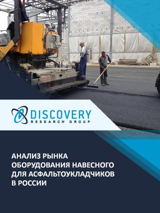 Анализ рынка оборудования навесного для асфальтоукладчиков в России