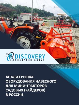 Маркетинговое исследование - Анализ рынка оборудования навесного для мини-тракторов садовых (райдеров) в России