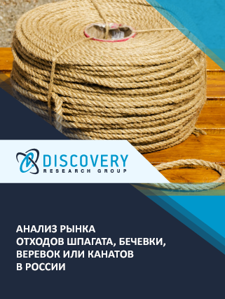 Маркетинговое исследование - Анализ рынка отходов шпагата, бечевки, веревок или канатов в России