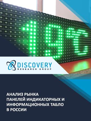 Маркетинговое исследование - Анализ рынка панелей индикаторных и информационных табло в России