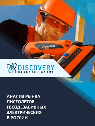 Маркетинговое исследование - Анализ рынка пистолетов гвоздезабивных электрических в России