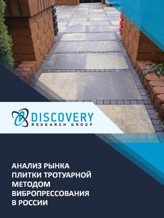 Маркетинговое исследование - Анализ рынка плитки тротуарной методом вибропрессования в России