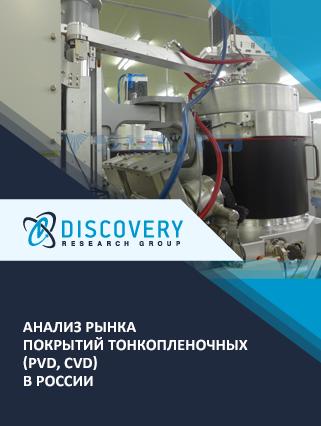 Анализ рынка покрытий тонкопленочных (PVD, CVD) в России