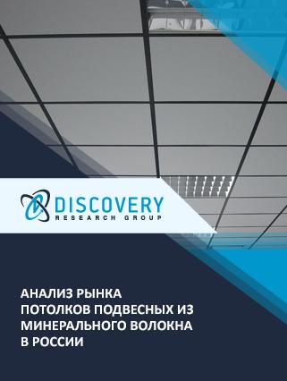 Маркетинговое исследование - Анализ рынка потолков подвесных из минерального волокна в России