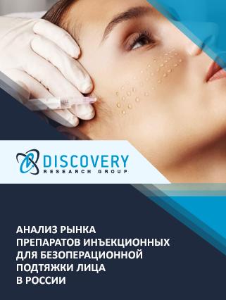 Маркетинговое исследование - Анализ рынка препаратов инъекционных для безоперационной подтяжки лица в России