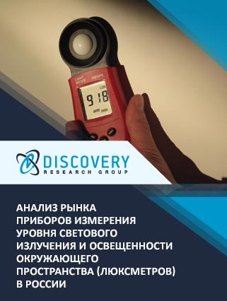 Анализ рынка приборов измерения уровня светового излучения и освещенности окружающего пространства (люксметров) в России