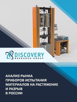 Маркетинговое исследование - Анализ рынка приборов испытания материалов на растяжение и разрыв в России