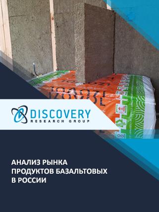 Маркетинговое исследование - Анализ рынка продуктов базальтовых в России