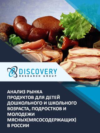 Анализ рынка продуктов для детей дошкольного и школьного возраста, подростков и молодежи мясных(мясосодержащих) в России