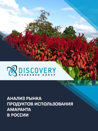Маркетинговое исследование - Анализ рынка продуктов использования амаранта в России