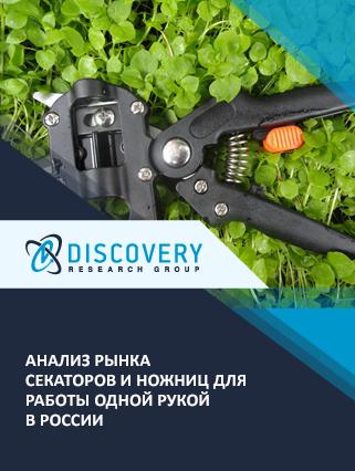 Маркетинговое исследование - Анализ рынка секаторов и ножниц для работы одной рукой в России
