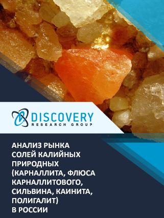 Анализ рынка солей калийных природных (карналлита, флюса карналлитового, сильвина, каинита, полигалит) в России