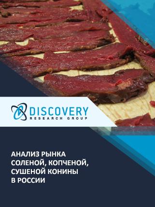 Маркетинговое исследование - Анализ рынка соленой, копченой, сушеной конины в России