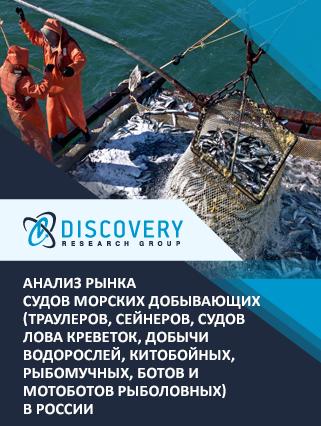 Маркетинговое исследование - Анализ рынка судов морских добывающих (траулеров, сейнеров, судов лова креветок, добычи водорослей, китобойных, рыбомучных, ботов и мотоботов рыболовных) в России