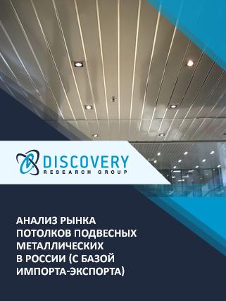 Маркетинговое исследование - Анализ рынка потолков подвесных металлических в России (с базой импорта-экспорта)