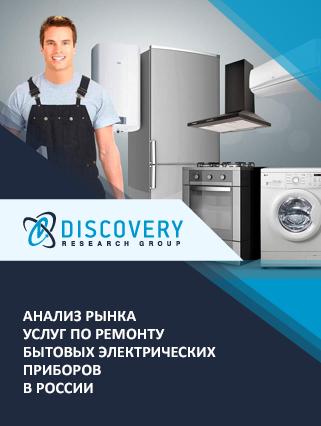 Маркетинговое исследование - Анализ рынка услуг по ремонту бытовых электрических приборов в России