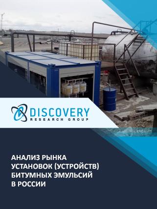 Маркетинговое исследование - Анализ рынка установок (устройств) битумных эмульсий в России