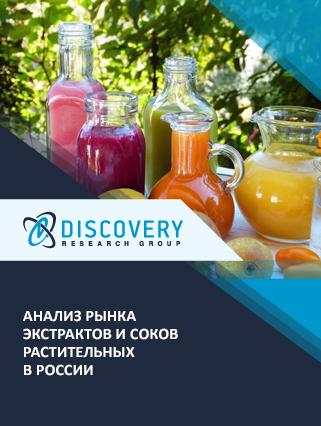 Маркетинговое исследование - Анализ рынка экстрактов и соков растительных в России